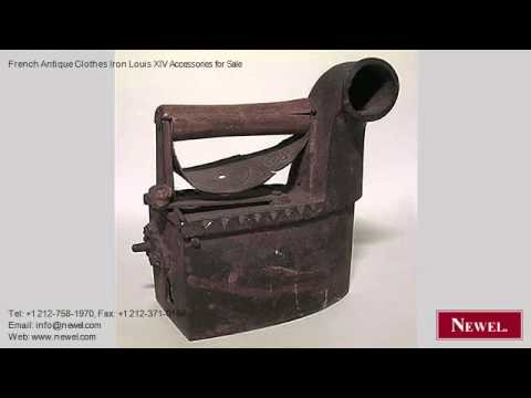 French Antique Clothes Iron Louis XIV Accessories for Sale
