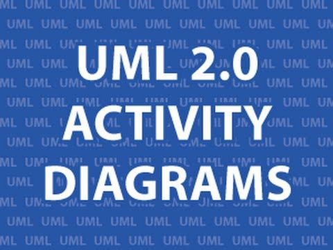 Uml 20 Activity Diagrams Youtube