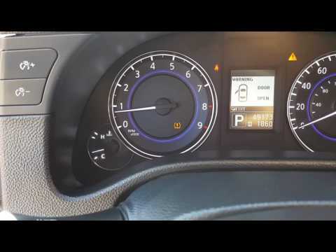 INFINITI NISSAN FAULTY TPMS MODULE WILL NOT LET YOU RESET YOUR LOW TIRE PREASSURE LIGHT ON DASH