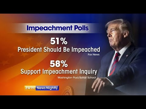 Syria and impeachment: President Trump speaks out - EWTN News Nightly