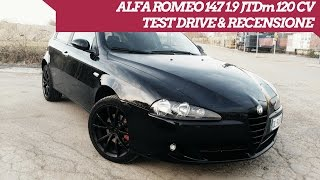 Alfa Romeo 147 1.9 JTDm Recensione Onboard   Onboard Review