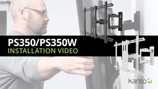 PS350 TV Mount Installation Guide | Kanto Mounts