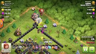 clash of clans - wall wrecker bug