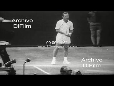 DiFilm - Rod Laver vs Arthur Ashe - Wimbledon Championships 1969