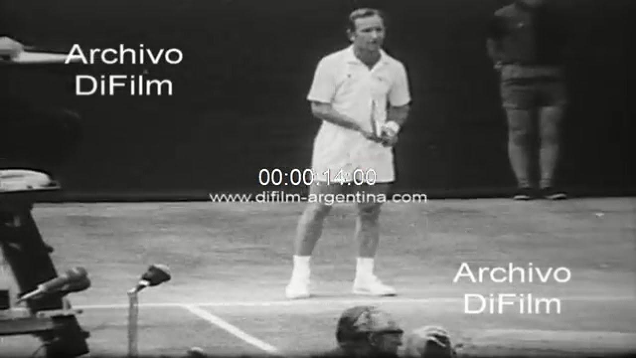 Di Rod Laver vs Arthur Ashe Wimbledon Championships 1969