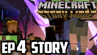 [SPOILERS] Minecraft Story Mode EPISODE 4 STORY REVEAL & RELEASE DATE | EPIC Minecraft Story ENDING