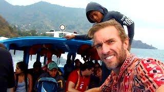 Boat Ride Across Lake Atitlan, Guatemala & Tour of San Marcos