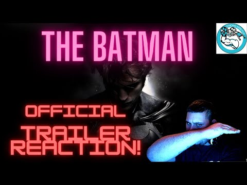 The Batman 2021 Official Trailer Reaction!
