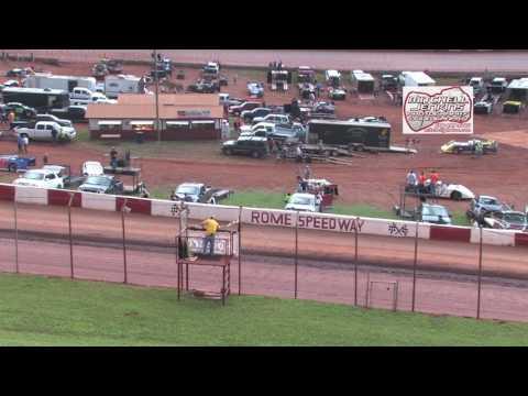 Rome Speedway 7/2/17 Rainout Econo Bomber Heats 1&2!