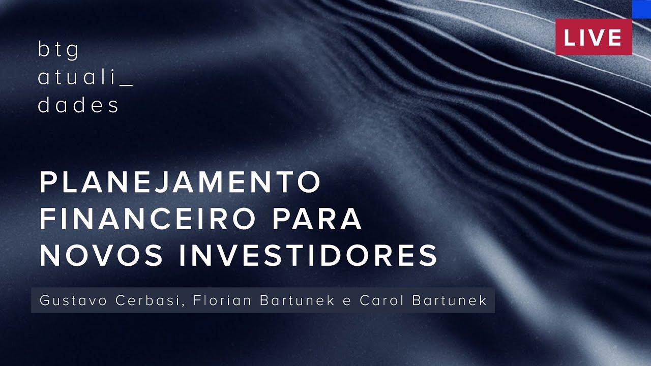 Planejamento financeiro para novos investidores