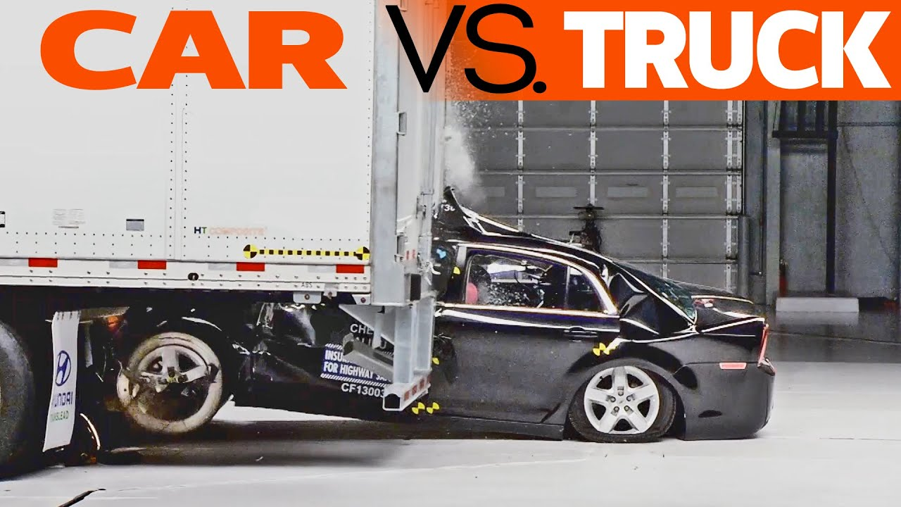 Crashes Car Vs Truck Trailer Underride Testing