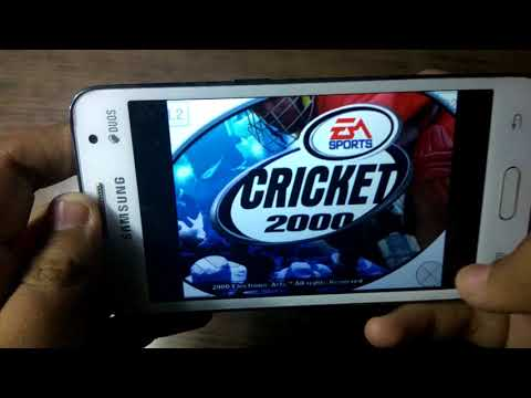 Download Ea Sports Cricket 2000 For Android In 90 Mb Gameplay Proof!