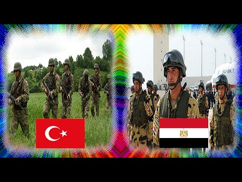 Turkish Army VS Egyptian Army Power Comparison 2016 - 2017