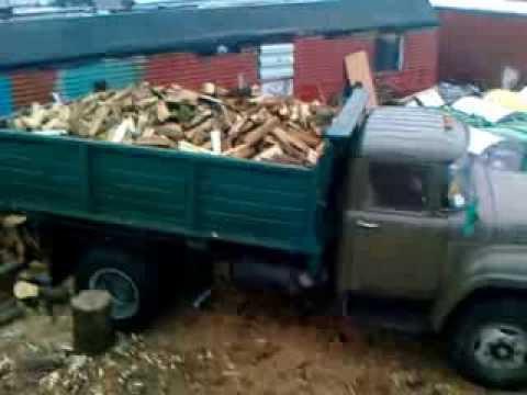 Машинка с дровами продана, купить дрова, дрова купить, дрова Киев