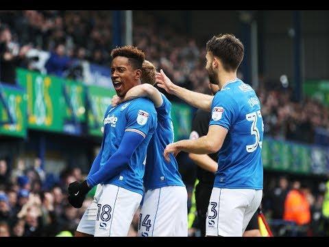 Highlights: Portsmouth 1-1 Scunthorpe United