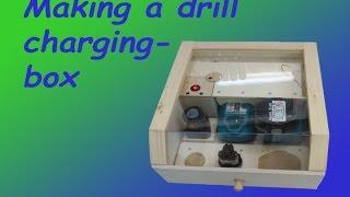 Making a Dustproof Drill-charging Box