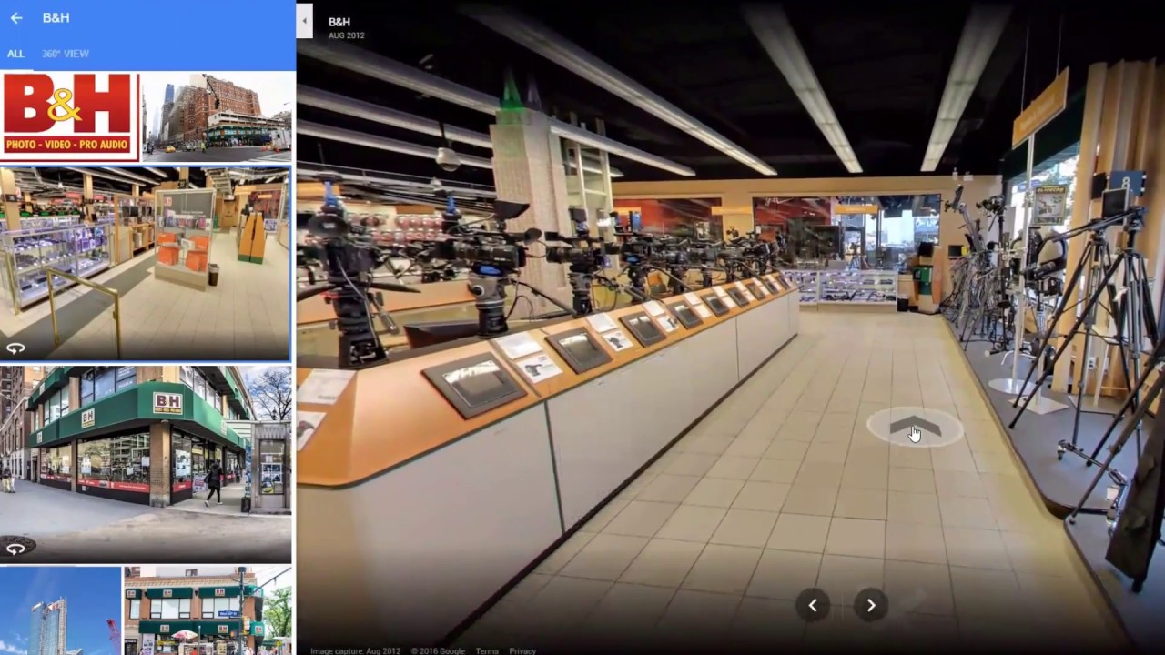 PTZ Cameras at the B&H NYC Super Store! - YouTube