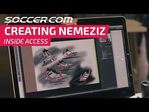Design and creation of adidas Nemeziz 17+ 360Agility