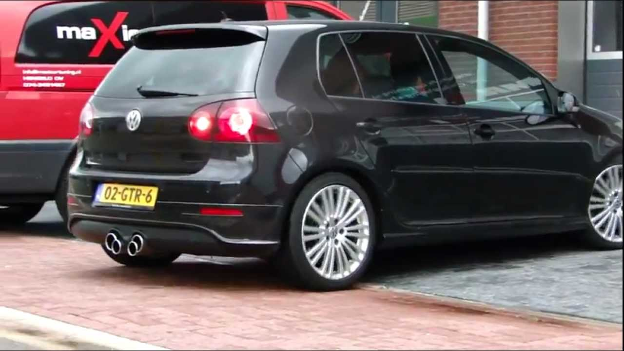 vw golf v r32 edelstahl sportauspuff ma geschneidert www. Black Bedroom Furniture Sets. Home Design Ideas