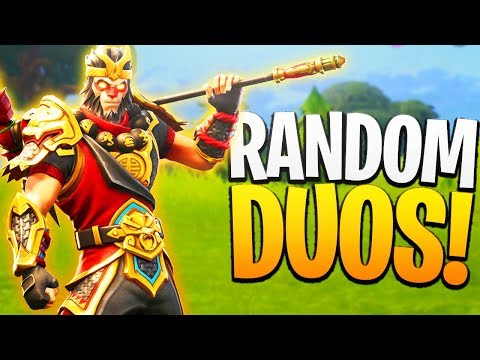 The GREATEST Teammate! Fortnite RANDOM DUOS! - PS4 Fortnite Random Duos Gameplay