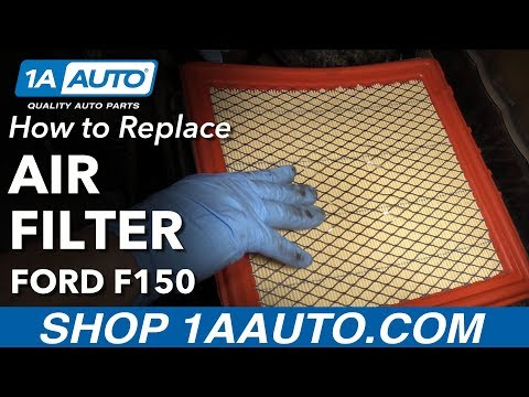 How to Replace Air Filter 09-14 Ford F-150