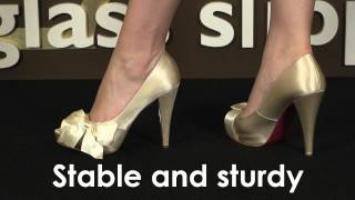 Wedding Shoe Review for Destiny by Paris Hilton