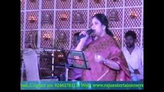 Annamacharya Keerthanalu By Singer Nithya Santhoshini - Raju Events 09246278112