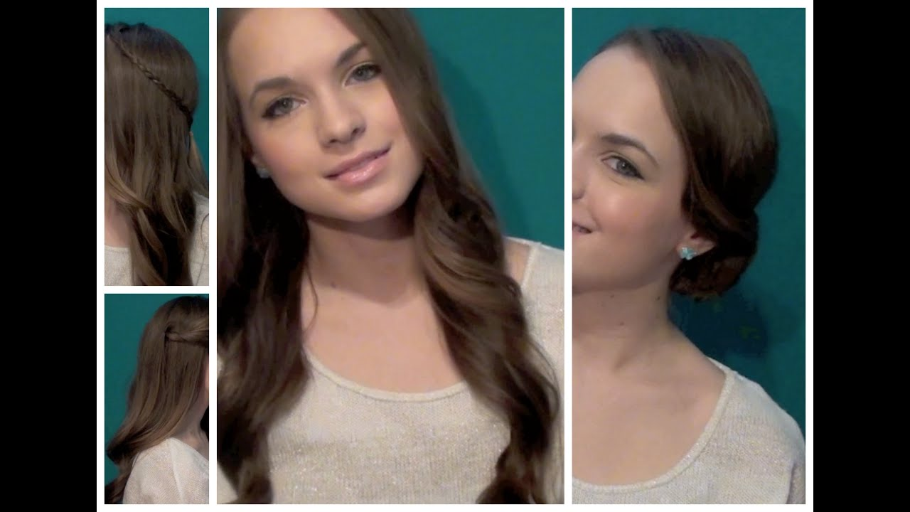 4 Quick Lauren Conrad Inspired Hairstyles - Fall Hair Look Book ...