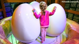 ANGRY BIRDS Fun Playground for kids with Milusik Lanusik