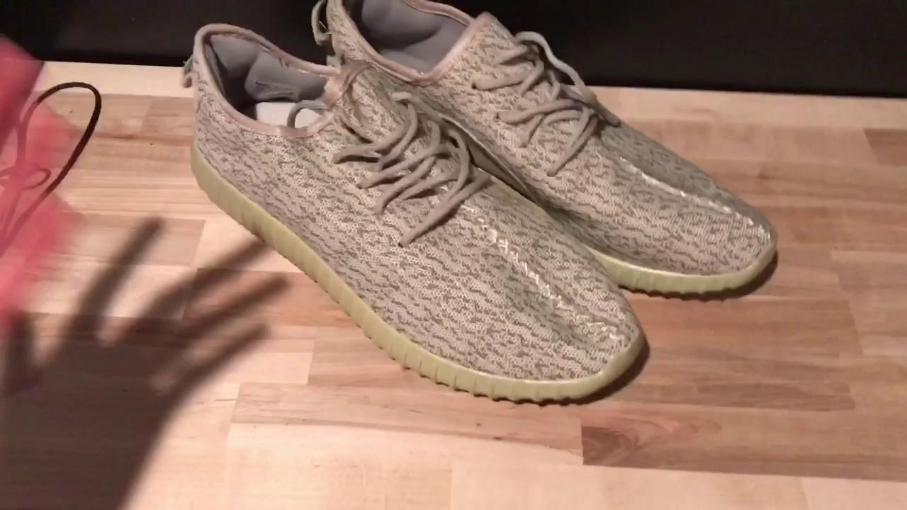 17e5c6f74 30 DOLLAR AMAZON YEEZY BOOST REVIEW - YouTube
