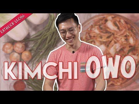 OPPA RECREATES HIS MUM'S HOMEMADE KIMCHI   Eatbook Vlogs   EP 113