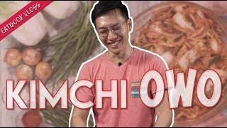 Oppa Recreates His Mum's Homemade Kimchi | Eatbook Vlogs | EP 60