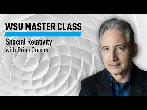WSU: Special Relativity with Brian Greene | 2020