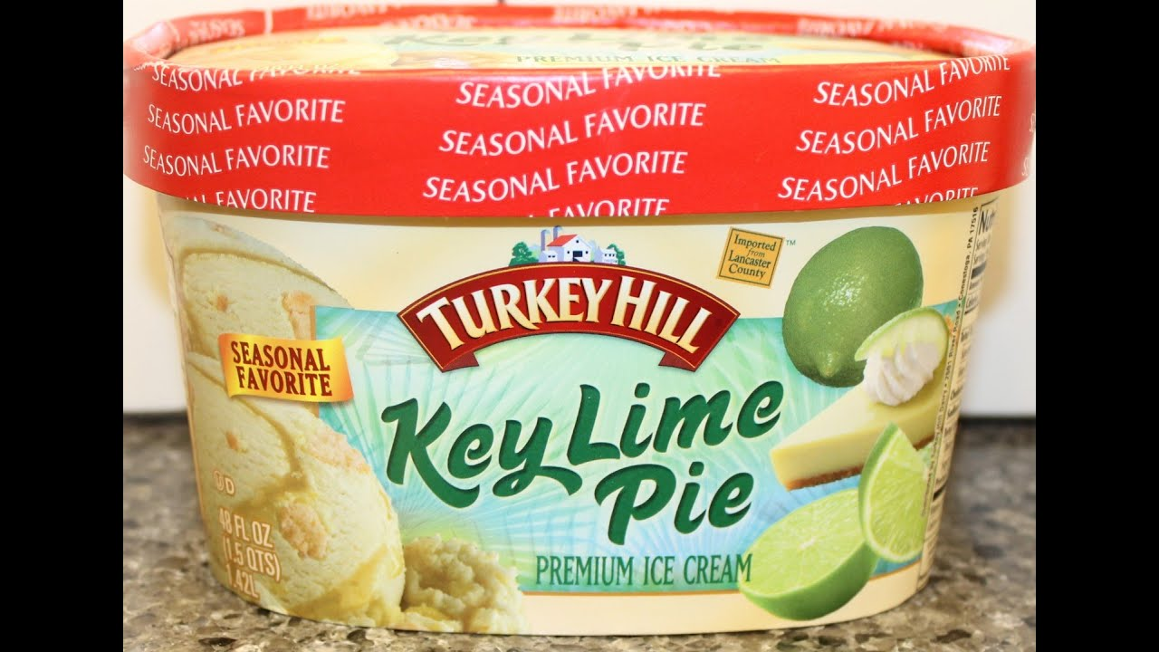Turkey Hill Key Lime Pie Ice Cream Review Youtube