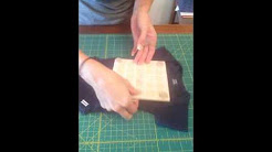 Memory Rag Quilt Tutorial #3 Cutting your baby clothes