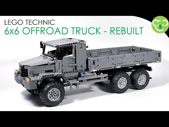 6x6 Offroad Truck Rebuilt - LEGO Technic MOC