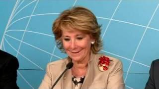 """Aguirre considera """"lamentable"""" que no haya AVE Madrid-Salamanca"""