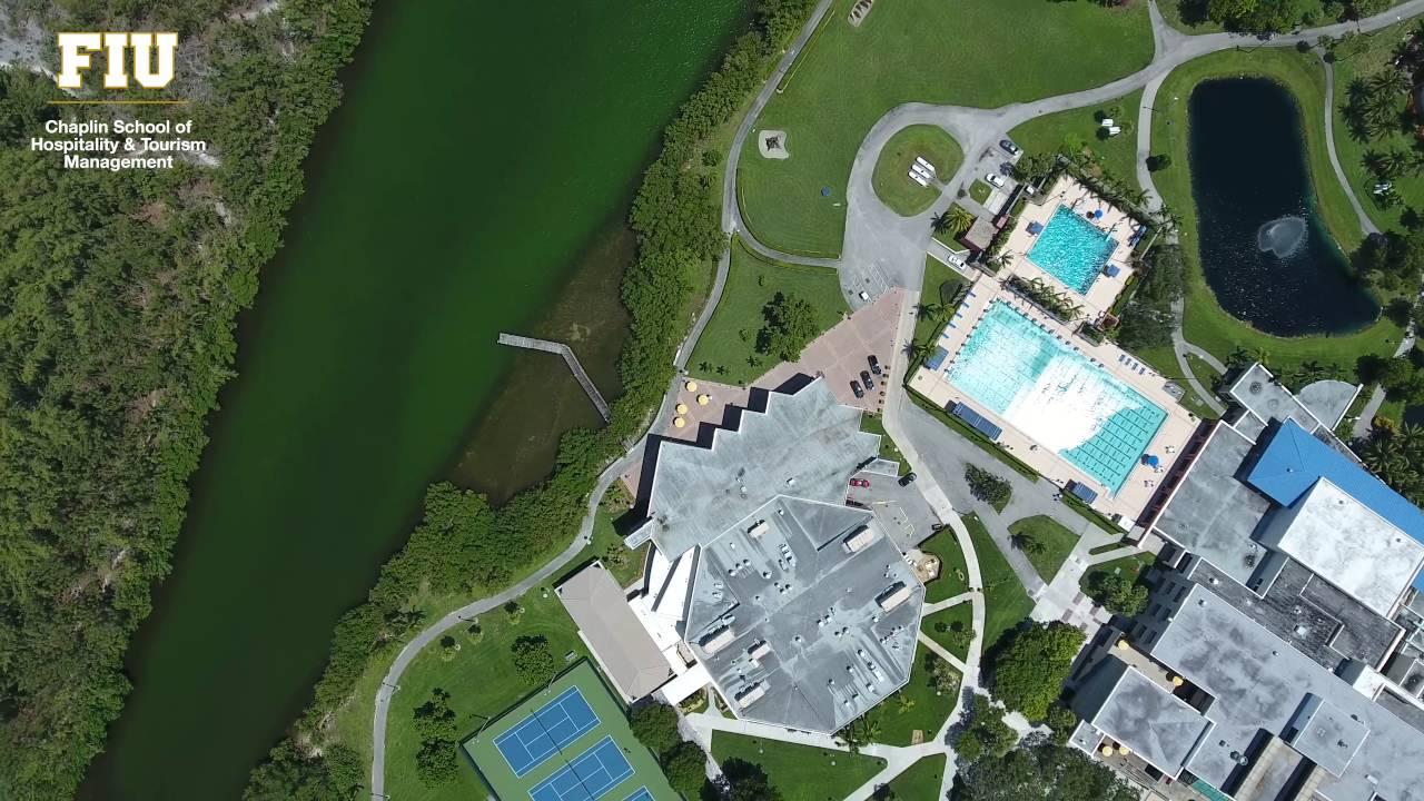 Biscayne Bay Campus Map.Florida International University Biscayne Bay Campus From Above