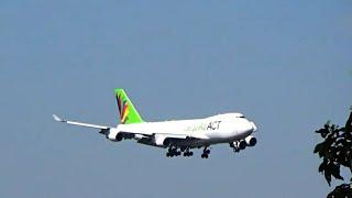 AIR ACT CARGO , BOEING 747 , POUSO NO AEROPORTO DE GUARULHOS | GRU-SBGR |