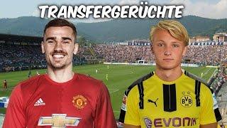 Griezmann für 115 Mio€ zu Manchester United ? Dolberg zu Dortmund ? Transfers und Transfergerüchte