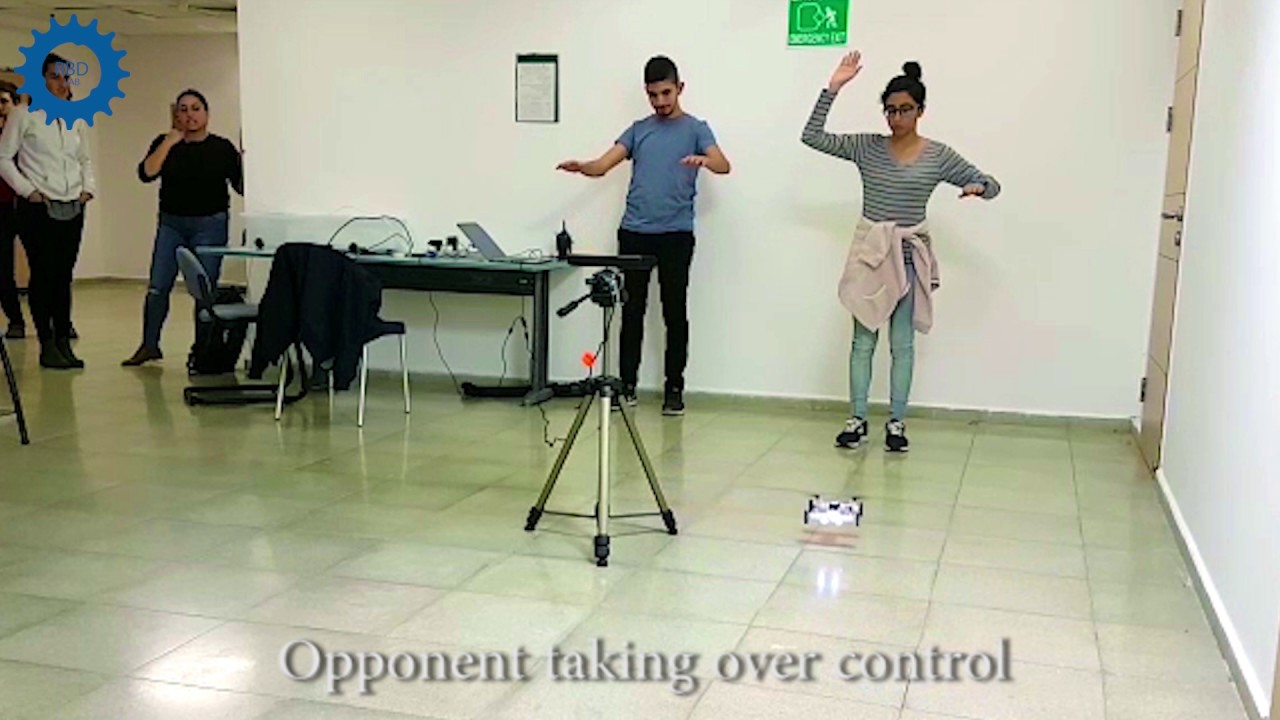 Controlling Drones By Hand