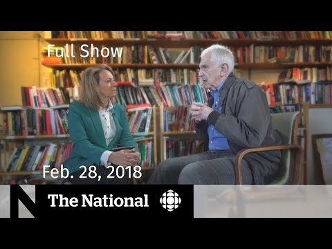 The National for February 28, 2018 - Gun Control, Trudeau, Pentagon Papers