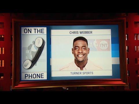 NBA on TNT Analyst Chris Webber Talks NBA Finals & More - 6/5/17
