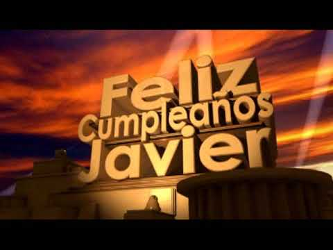 Feliz Cumpleaños Javier Youtube
