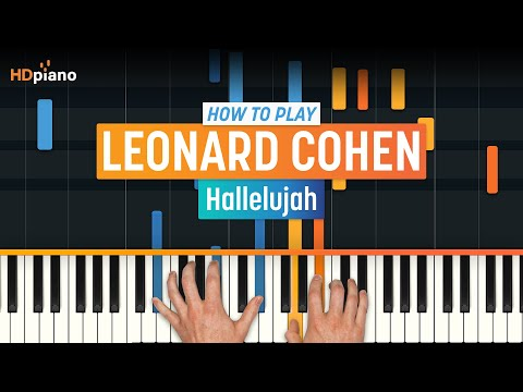 How To Play Hallelujah  Leonard Cohen Rufus Wainwright  HDpiano Part 1 Piano Tutorial