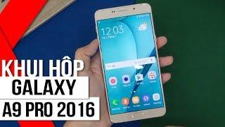 Khui hộp Samsung Galaxy A9 Pro 2016: mạnh mẽ & bền bỉ ➤ http://fpts...