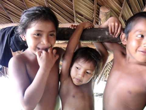 Warao Kids, Orinoco Delta, Venezuela