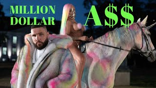 KATJA KRASAVICE x FLER - MILLION DOLLAR A$$ (Official Music Video)