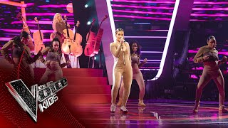 Clean Bandit, Mabel and 24kGoldn Perform 'Tick Tock' | The Final | The Voice Kids UK 2020