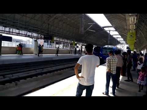 4.7.2015 Chennai Metro Train (Alandur Station to Vadapalani)
